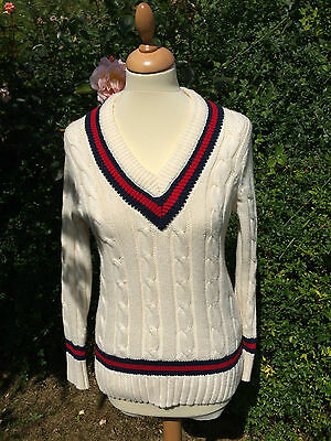 Cricket Jumper Tank Top Size L Best Offer accepts Free Fast Post* XMAS PARTY