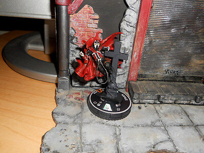 CUSTOM Heroclix HELL SPAWN Figure Miniature Pro Painted HELL Mcfarlane Comic