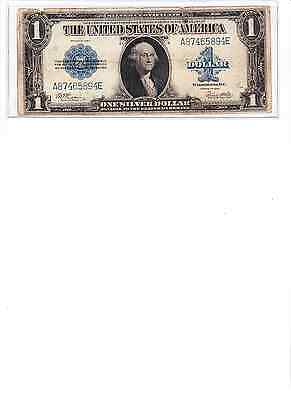 Series of 1923 Large Size $1Silver Certificate Last year horseblanket note