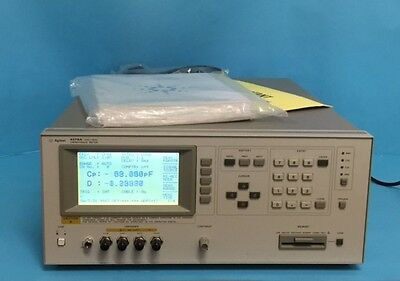 Agilent/hp 4278A Capacitance Meter With Option 101 202 301 Manuals, Certificate