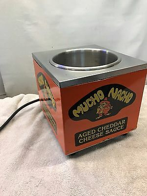 Mucho Nacho Cheese Warmer Model W4 Nice Can Size #10