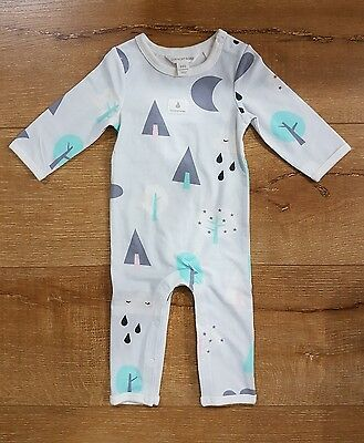 NEAR NEW Country Road Baby Unisex One-Piece Bodysuit Size 0-3m
