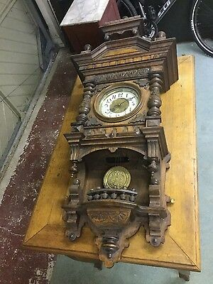 Clock from Warsaw Post 1900
