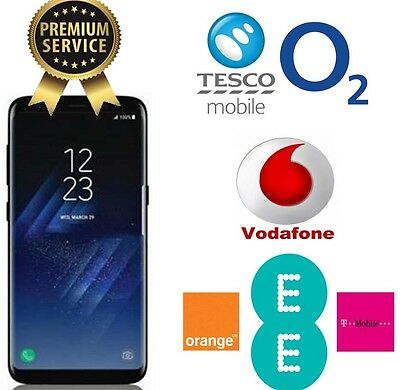 24 Hours UNLOCKING CODE SERVICE FOR SAMSUNG S6 S7 S8 Plus EDGE O2 EE VODAFONE