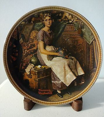 NEW IN BOX Norman Rockwell Complete Set of 12 'Rediscovered Women' Plates