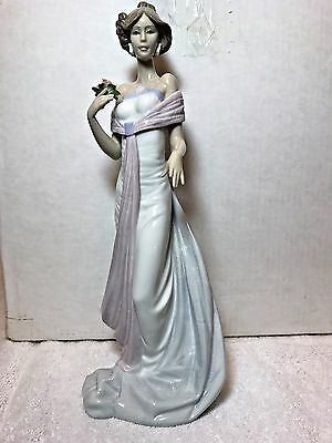 RETIRED LLADRO FIGURINE SUMMER INFATUATION - 6366 1997 Premier Issue, FREE SHIP