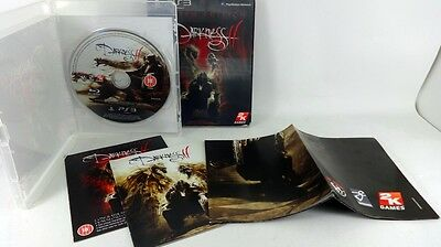 Playstation PS3 game DARKNESS II 2 * LIMITED EDITION LENTICULAR SLEEVE Complete