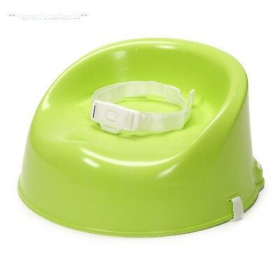 Toddler Booster Chair Kids Portable Dining Table Feeding Seat Travel Green New