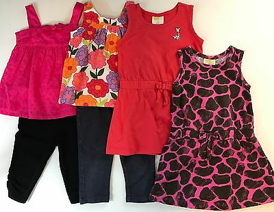 LOT Toddler Girls Size 3T 3 Years Spring Summer Clothes Dresses