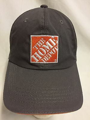 The Home Depot Baseball Cap Hat Embroidered One Size 100% Cotton