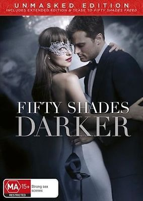 Fifty Shades Darker BRAND NEW SEALED R4 DVD 2017