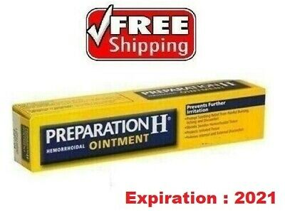 PREPARATION-H-CANADIAN-TYPE-Puffy-Eyes-Hemorrhoids-Bio-Dyne-Shark-Oil-25gr