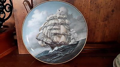 """Vintage plate from clipper ships plate collection """"ARIEL"""" Franklin mint"""