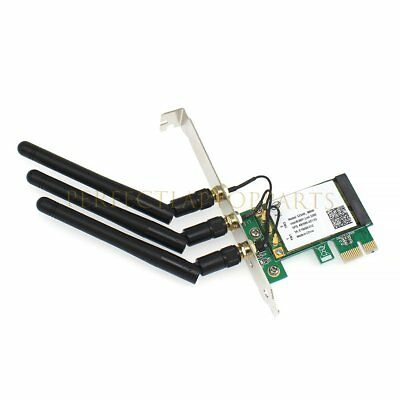 300Mbps PCI -E WiFi wireless Card Adapter Antennas for Desktop Laptop PC