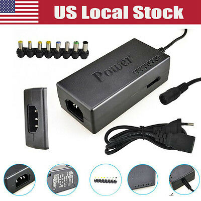 96W Universal Power Charger Adapter AC For Laptop Notebook US Stock New Universa