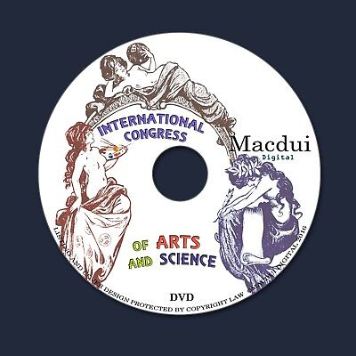 International Congress of Arts and Science 1861 Vintage Ebooks 15 PDF on 1 DVD