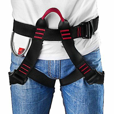 Climbing Harness Safety Belt Body Guide Safe Seat Outdoor Rock Rappelling Bust