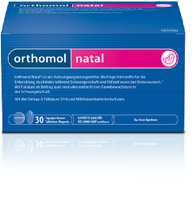 2x ORTHOMOL NATAL, 2X 30 Portions = 60 Portions, Tablets/Capsules, 00775994