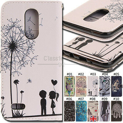For LG K4(2017) Flip Card Fashion PU Leather Wallet Luxury Cover Stand Case Skin
