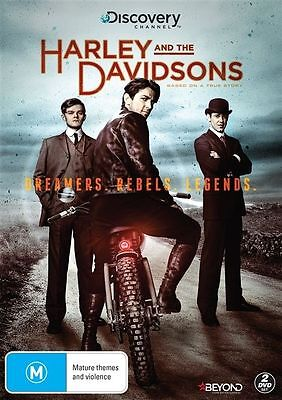 Harley And The Davidsons Dvd, New & Sealed, 2 Disc Set, Region 4, Free Post