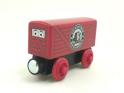 RARE NEW WOODEN magnetic THOMAS friend The Tank Engine Train dart 's truck