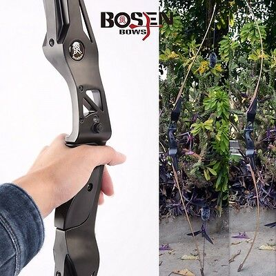 BOSEN BOWS 64in. Bamboo Limbs Target Hunting Takedown Bow Righthand Longbows