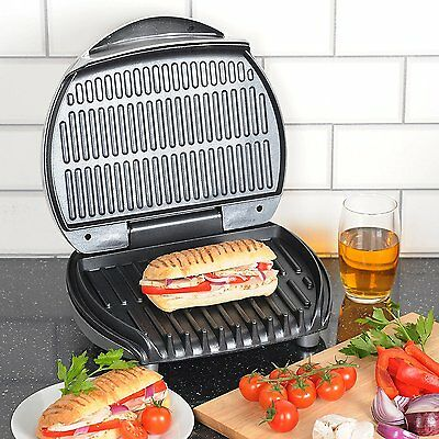 Igenix IG1513 Family Sized 4 Portion Low Fat Health Grill IG1513