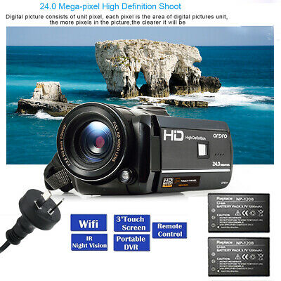 "New HD 1080P Digital Video Recorder Camera 3.0"" LCD Camcorder EXTRA 1x Battery"