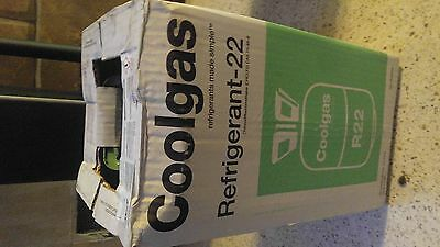 R 22 freon refrigerant 30lbs NEW FULL