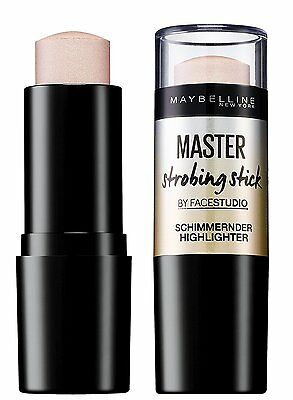 Maybelline New York Master Strobing Highlighter Stick 100 Light Iridescent 9g