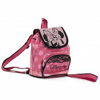 Girls - Minnie Mouse School Backpack Bag