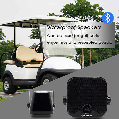 Bluetooth Wireless Waterproof Portable Speakers For Car Boat Motorcycle Stereo