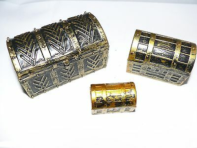 Geocache Geocaching Fun Pirate Treasure Chest Cache 3 Sizes