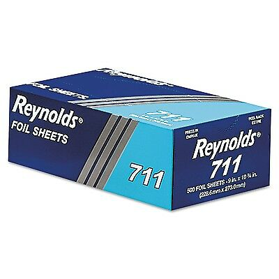 Pop-Up Interfolded Aluminum Foil Sheets in Silver 500/Box 1