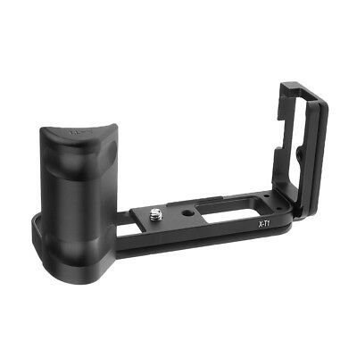 Quick Release Vertical Plate Bracket for Fuji X-T1-XT1-Tripod Black