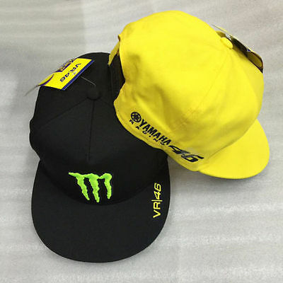 Valentino Rossi VR46 MotoGp Embroidery Baseball Cap Monster Energy Claw Cap Hat