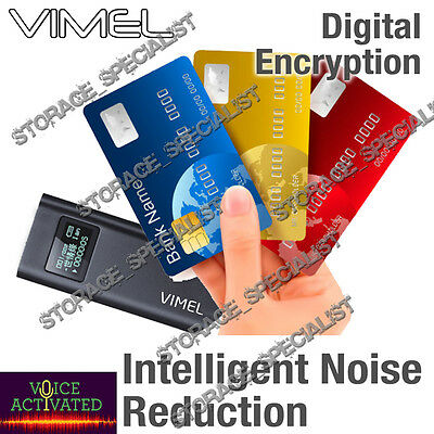 Mini Voice Recorder Listening Device Vimel Activated Dictaphone No Spy Hidden