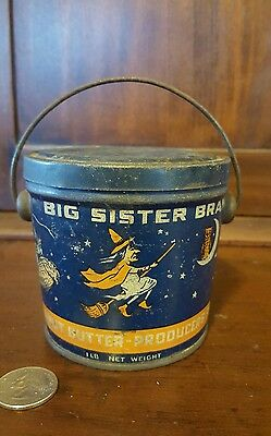 Big Sister peanut butter pail VERY RARE