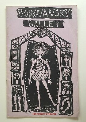 The Borovansky Ballet Company 6 October 1960 Her Majesty's Theatre Melbourne