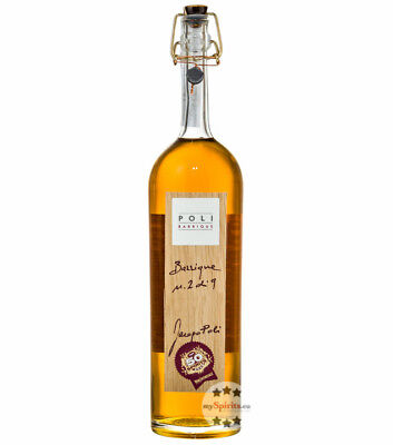 Poli Grappa Barrique Jacopo Poli / 55 % Vol. / 0,7 Liter-Flasche in Holzschatull