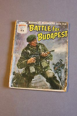 Battle Picture Library no 481 - BATTLE FOR BUDAPEST  - 1'3