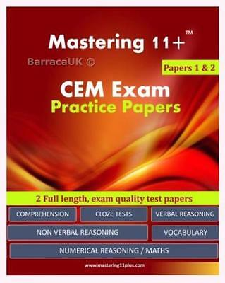 NEW 11+ CEM Exam Practice Papers - Pack 1: Mastering 11+