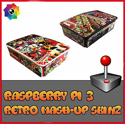 Raspberry Pi 3 (Skin only) Mashup (Use official Raspberry pi 3 case) Retropie