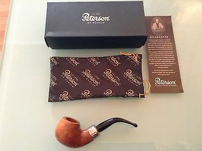 PIPE, PIPA PETERSON OF DUBLIN KILDARE STERLING SILVER 9mm NEW