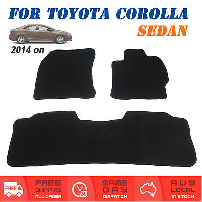 Car Floor Mat Tailored For Toyota Corolla Sedan ZRE172 2014-Current Front & Rear