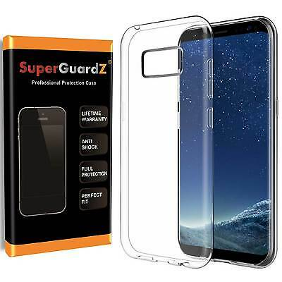 2X Samsung Galaxy S8 Case, SuperGuardZ® Slim Clear Shockproof Armor Shield