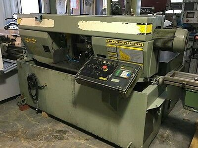 Hydmech H14A Horizontal Cutoff Saw With Overhead Bundling