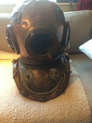 antique Sieb Gorman Diving Helmet