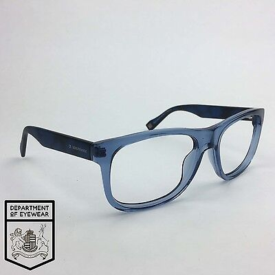 BOSS ORANGE eyeglass BLUE / BLACK frame SQUARE Authentic. MOD:25663419