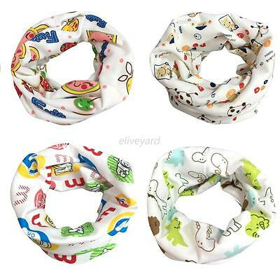 Baby Kid Boy Girl Cotton Neck Scarf Snood Autumn Winter Fashion Scarves Scarf US